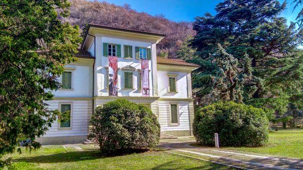 Villa Glisenti per la mostra di Tiziano Calcari